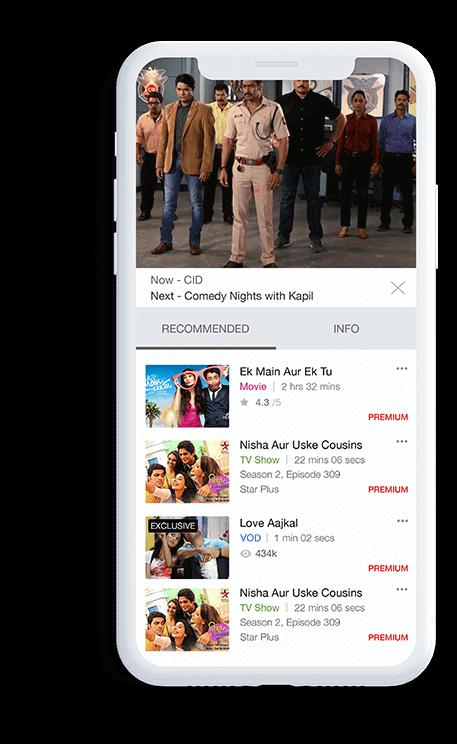 NexGTV Mobile App by Appinventiv